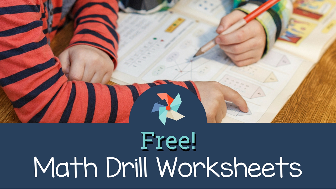 Free Math Drill Worksheets The Tutor Coach – Free Math Drill Worksheets