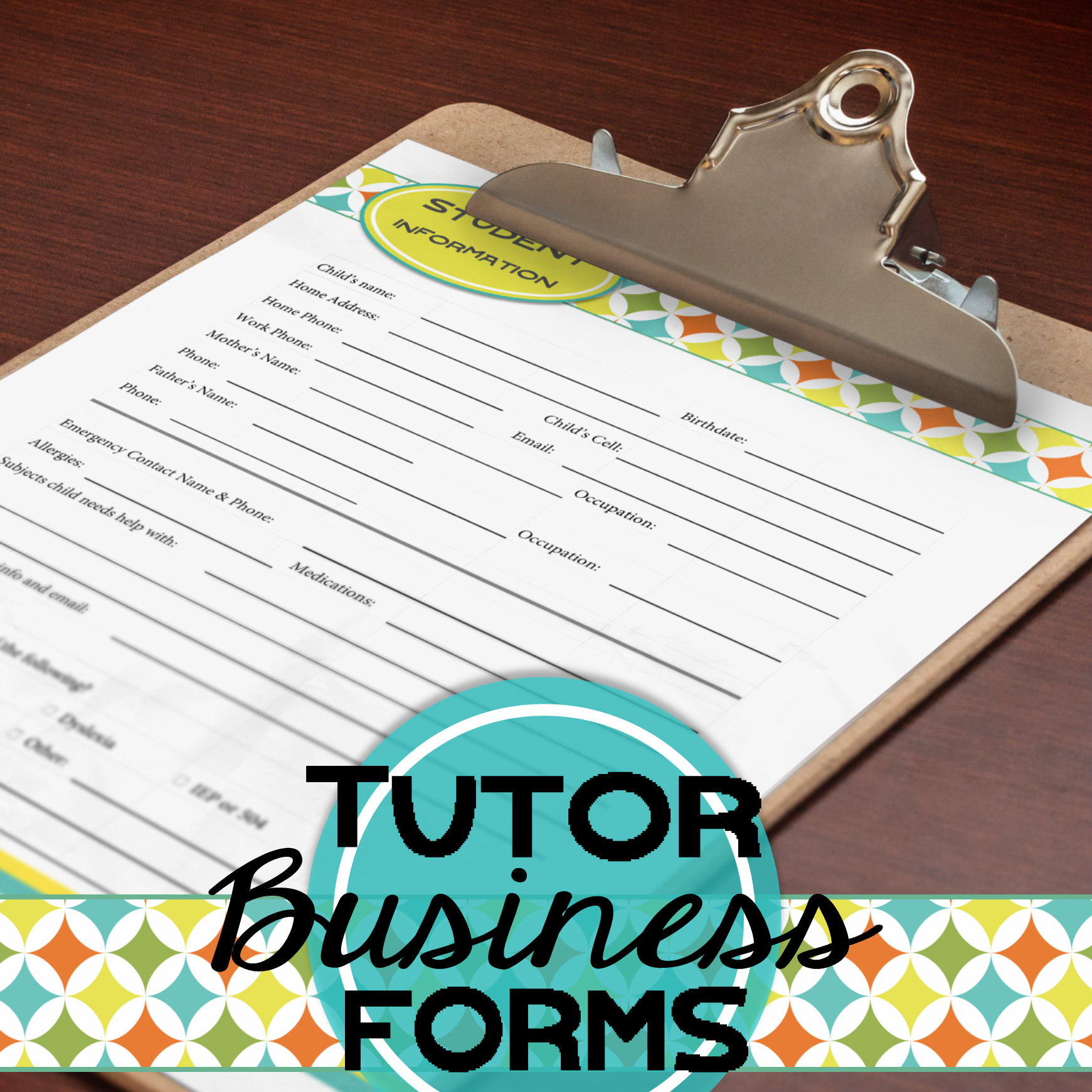 Tutor Business Forms…A Change for the Better