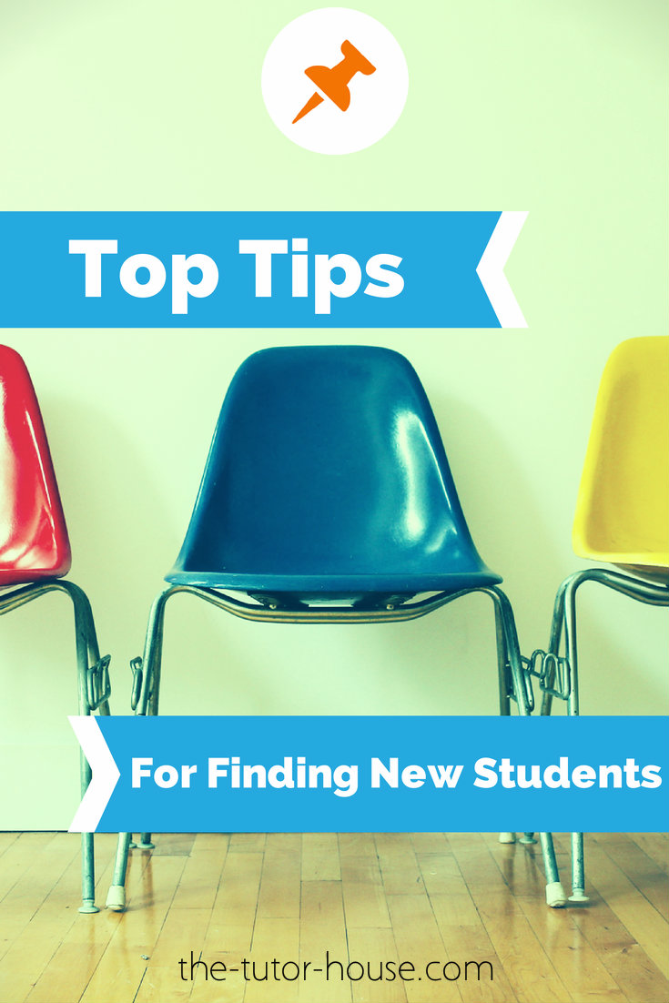 Top Tips For Finding New Students