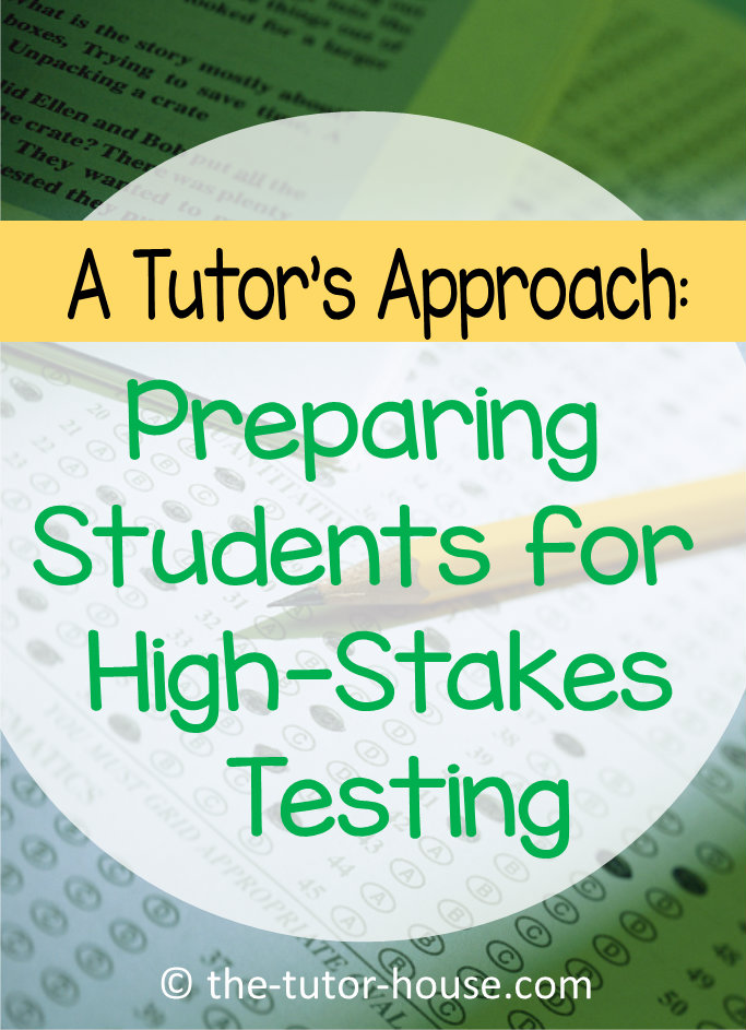 A Tutor S Approach Preparing Students For High Stakes Testing